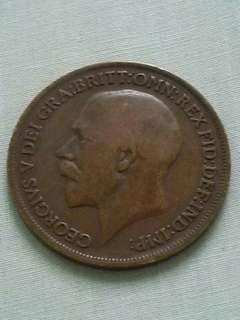 1919 one penny