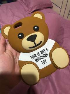 Iphone 6/6s moschino bear case