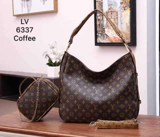 WITH FREE GIFT L 2 IN 1 SET HANDBAG