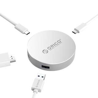 🚚 Oico Type-C to HDMI Hub (Silver)