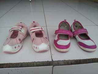 Sepatu sandal anak 2 pasang