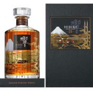 三得利 響21年 花鳥風月 Suntory Whisky Hibiki