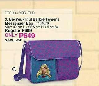 Be-You-Tiful Barbie Tweens Messenger Bag