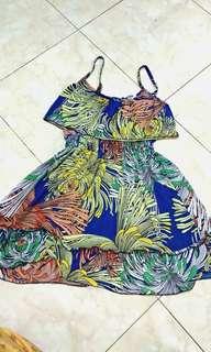 fun summer dress bahan lycra lembut lemes tp ga tipis.. pake 2x buat traveling