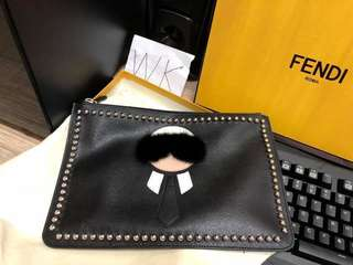Fendi Karlito Clutch Bag