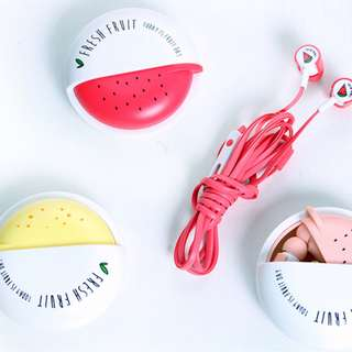 Cute Watermelon Earphone for Girls