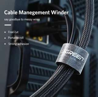 Cable Winder Wire Organizer Nylon Cable Ties Straps