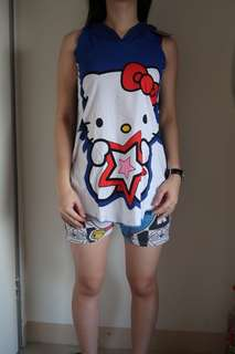 NEW !! Hello kitty top