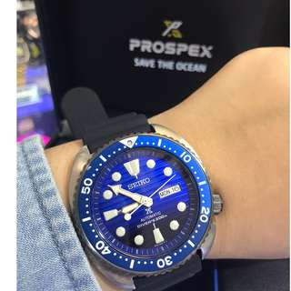 Seiko 精工 Prospex Save the Ocean 系列 限量款 (藍鯨鮑🐳)