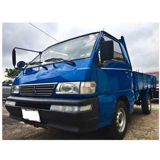 20010年~ 中華三菱~ 得利卡 貨車~ 2.4L 手排 ~ 頭家首選~ 藍