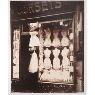 PHOTO CARD BY EUGENE ATGET | PARIS (19.5 X 13.5 cm)