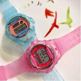 BG-169R-2R 淺藍/ BG-169R-4E 粉紅 BABY-G
