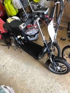 Golden escooter