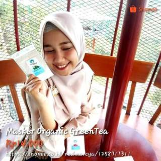 Masker Organic GreenTea