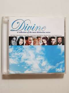 CD Divine - A Collection of The Most Distinctive Voices