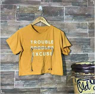 Trouble Problem Excuse Top