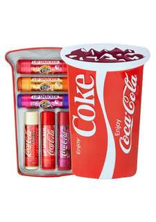 Lip Smackers Coke Cup Tin/Pencil Bag