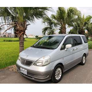 2005年~ Nissan日產~ SERENA 頂級 QR-V~ 2.0L 客貨兩用~ 銀