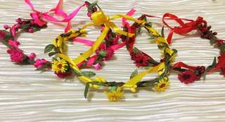 Flower crowns bundle