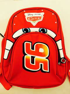 Backpack Kids School Bag Boy Girl Cars 95 Disney Pixar Lightyear Lightning
