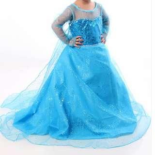 Queen Elsa Inspired Gown