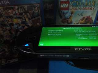 PSVita(HENkaku Version) with 4 free games