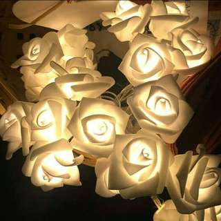 (READY STOCK) LAMPU TUMBLR BUNGA MAWAR / ROSE TUMBLR LAMP