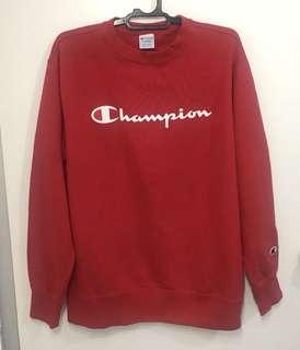 Sweater Champion original merah