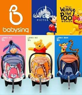 🎉正版迪士尼❤提籃安全座椅🎉