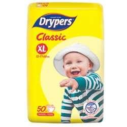 2 x XL50 Drypers Classic