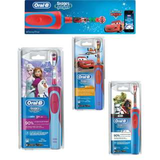 🚚 Oral-B Stages Power Kids Electric Toothbrush - Rechargeable