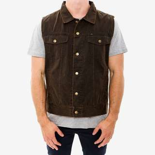 OBEY Grimy Motorcycle Vest - Sold Out - Size S
