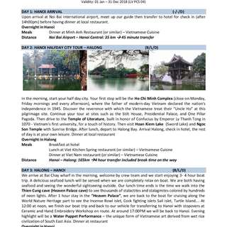 5D4N Hanoi - Halong - Tam Coc Private Land Tour