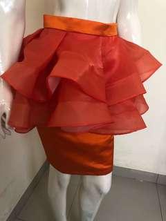 Permium Tutu Dewasa Orange