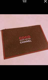Chanel coco game center VIP clutch pouch barg