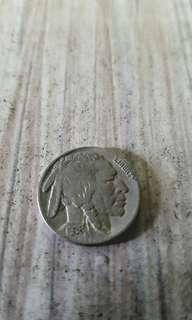 红蕃头硬币1936