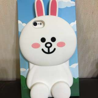 *全新正版* 可議價 iPhone6/6s case, Line Friends 兔兔 電話殻