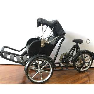 🚚 Home Decoration Handcraft Art - Trishaw