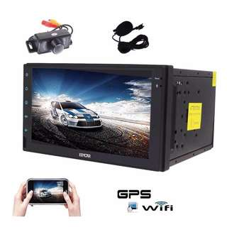 (S)1050. Android 6.0 Car Stereo with Quad Core EinCar GPS Car Radio Double Din 7
