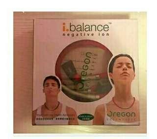 代友放,I.balance negative ion