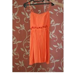 Divided H&M Peach Dress