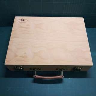 油畫工具箱  木製工具盒