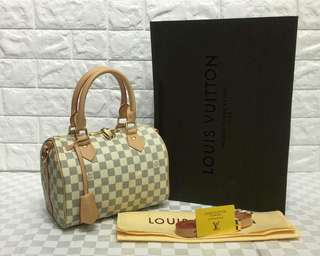 Louis Vuitton Speedy 25 Azur