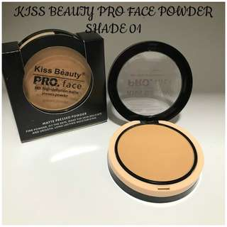 KISS BEAUTY PRO FACE POWDER