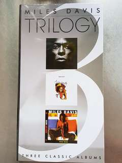 Miles davis Trilogy brand new sealed