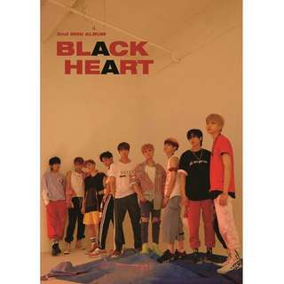 [PREORDER] UNB - Black Heart (2nd Mini Album)