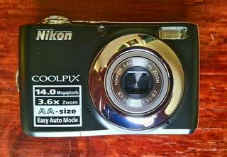 Nikon Coolpix L24, 14 MP, 3.6 Optical zoom (Black)