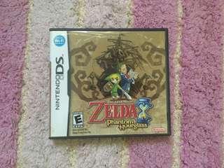 The Legend of Zelda Phantom of Hourglass DS GAMES
