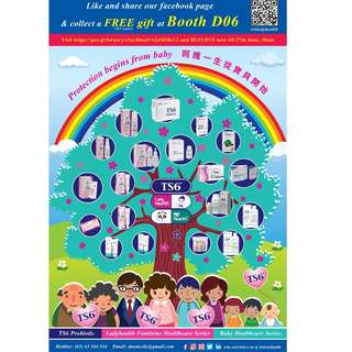 TS6 Roadshow @ Singapore Expo Hall 6B, Booth D06 (29 Jun to 1 Jul 2018, 10:30am-8pm)