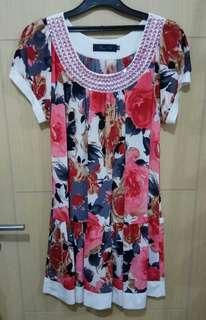 Dress Flower Manik fit XL